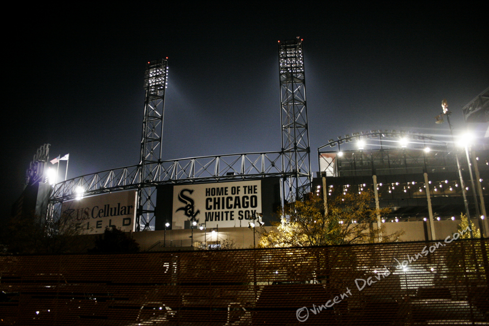 Game 1 of the 2005 World Series, with the Chicago White Sox. photo copyright by VincentDavidJohnson.com