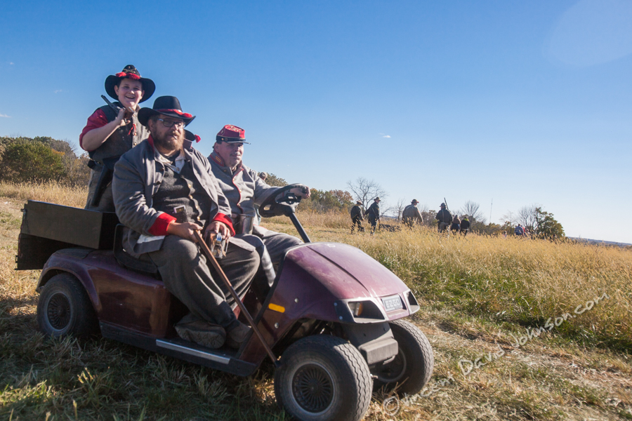 VINCENT D. JOHNSON - For Shaw MediaFrom the facial hair to their boots, most of the reenactors keep true to form for the entire weekend. Oct. 17, 2015.