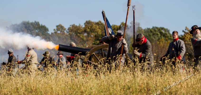 Civil War reenactment – Dollinger Farm Minooka