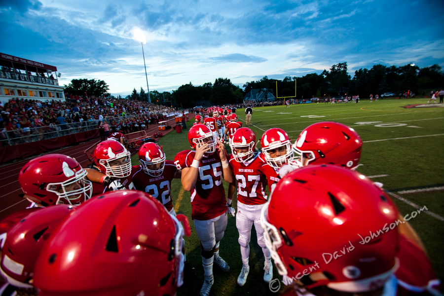 Hinsdale Central vs. American Fork, Friday, August 26, 2016, in Hinsdale. (Vincent D. Johnson-Pioneer Press).