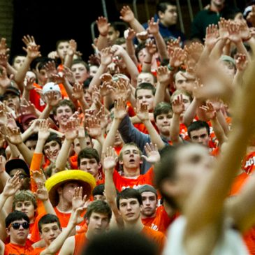 Shooting the Crazies – Chicago's Brother Rice High School cheering section