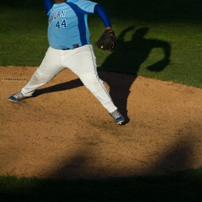 Crestwood, 6/3/13--Harlan's Senaji Patterson, pitching.  | Vincent D. Johnson~for Sun-Times Media