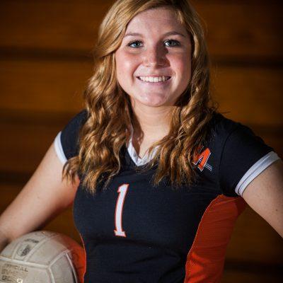 Skyler Day, Volleyball, Minooka. | Vincent D. Johnson/for Sun-Times Media
