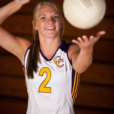 Emily Workman, Volleyball, Chicago Christian. | Vincent D. Johnson/for Sun-Times Media