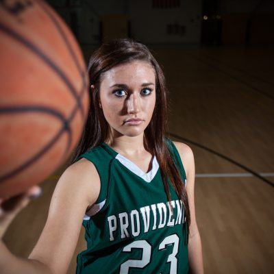 Alyssa Jurges, Providence, girls basketball. | Vincent D. Johnson/for Sun-Times Media