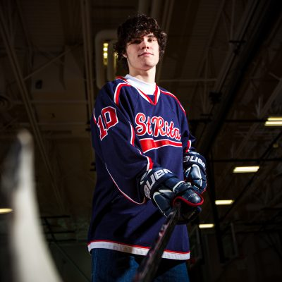 Sam Sereiko, St. Rita, Hockey. | Vincent D. Johnson/for Sun-Times Media